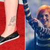 18 Pretty Strange Musicians' Tattoos