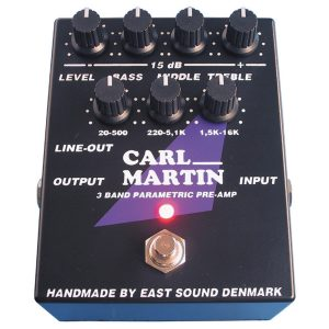 Carl Martin Preamp Pedals