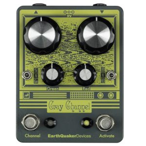 Earthquaker Overdrive Pedals