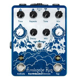 Earthquaker Reverb Pedals