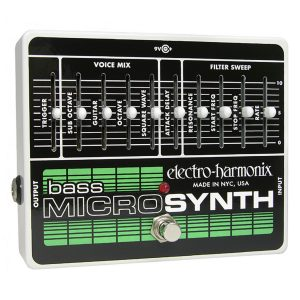 Electro Harmonix Bass Synth Pedals