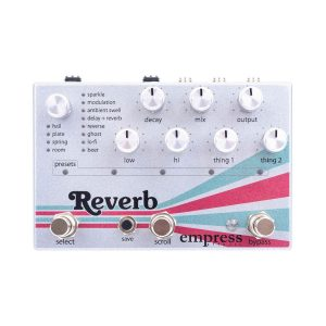 Empress Effects Reverb Pedals