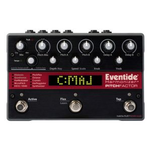 Eventide Octave Pedals