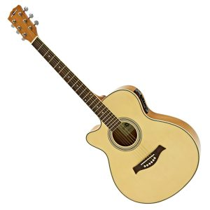 Gear4music Left Handed Electro Acoustic Guitars