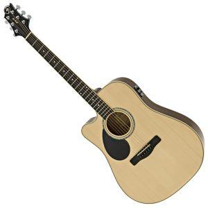 Gregg Bennet Left Handed Electro Acoustic Guitars