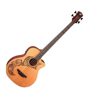 Luna Guitars Acoustic Bass Guitars