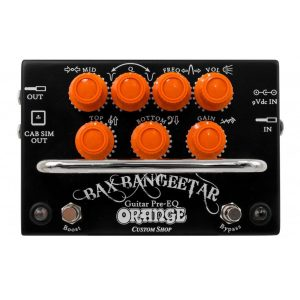 Orange Booster Pedals