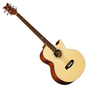 Ortega Left Handed Electro Acoustic Bass Guitars
