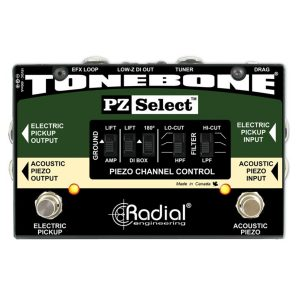 Radial Preamp Pedals