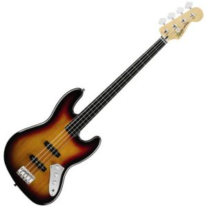 Squire Fretless Bass Guitars