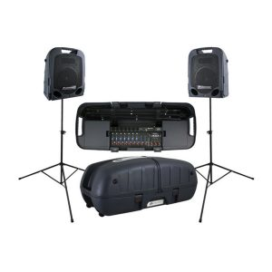Twin Speaker PA Systems