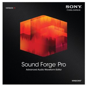 Sony Audio Editing Software