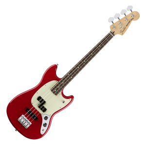 Fender Mustang Bass Torino Red