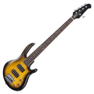Gibson 5 String Bass Guitar Vintage Sunburst