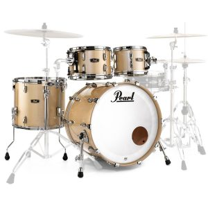 Pearl Wood Fibreglass Drum Kit