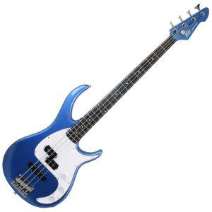 Peavey Milestone Bass Guitar Gulfcoast Blue