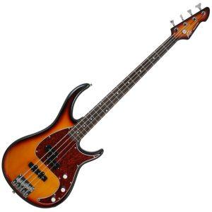 Peavey Milestone Bass Guitar Vintage Sunburst