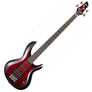 Aria IGB Bass Guitar Red Shade